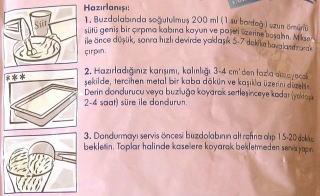 トルコアイスの作り方です。