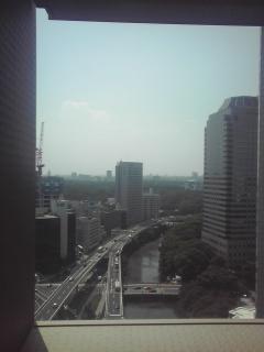 ただいま東京出張中