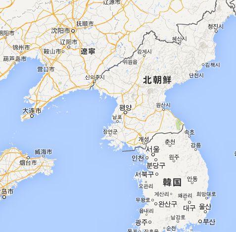 北朝鮮は真っ暗で電気不足なんだ