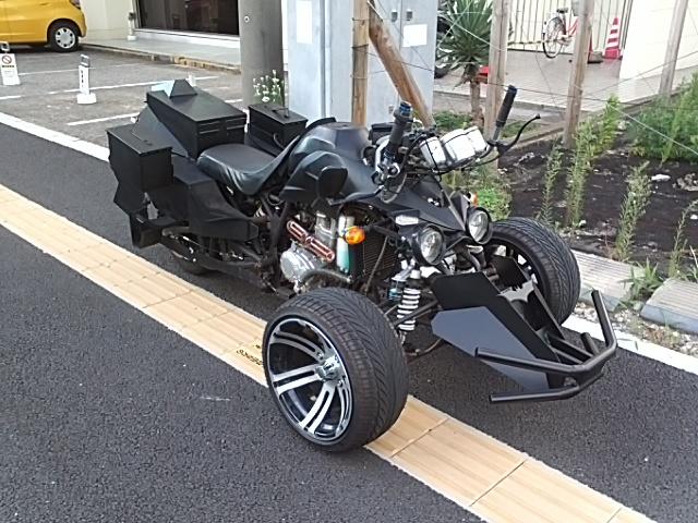 千葉ットマンのバイクを発見!