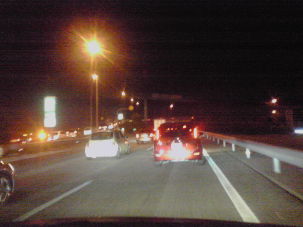 中央高速大渋滞