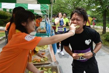 メロン食べ放題マラソンなら出たい!