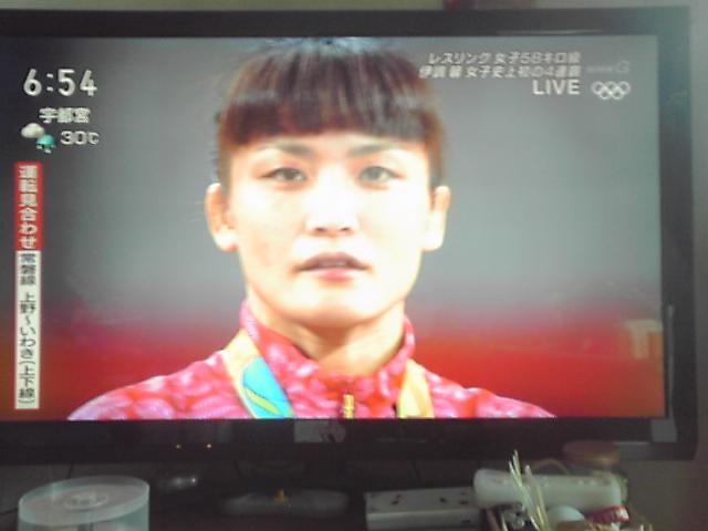 五輪史上初 4連覇達成
